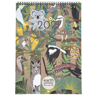 Large earth greetings calendar 2021