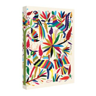 Otomi Journal - Embroidered Textile Art from Mexico