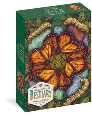 The Illustrated Bestiary Jigsaw Puzzle: Monarch Butterfly (750 Pieces)