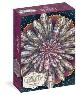 The Illustrated Crystallary Jigsaw Puzzle: Garden Quartz (750 Pieces)