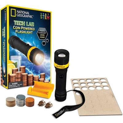 Tech Lab Coin Powered Flashlight (National Geographic)