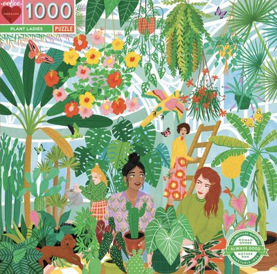 Plant Ladies: 1000-piece Jigsaw Puzzle Eeboo