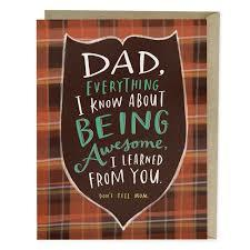 Card - Dad, Everything I Know About Being Awesome GC213
