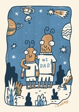 Homepage best dad in the galaxy