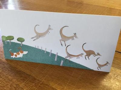 Bigsy and the Kangaroos Blank Card