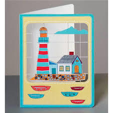 Card - Lighthouse cut ME28