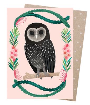 Card Sooty Owl