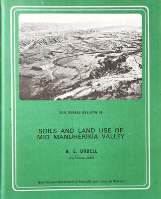 Soils and Land Use of Mid Manuerika Valley, Central Otago, New Zealand