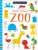 Sticker Shapes: Zoo (Ubsorne Minis)