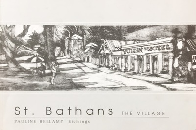 St Bathans : the Village : etchings