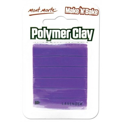 MM Make n Bake Polymer Clay 60g - Lavender MMSP6038