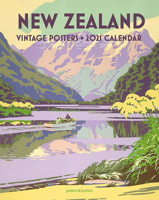 New Zealand Vintage Posters Small  2021 Calendar