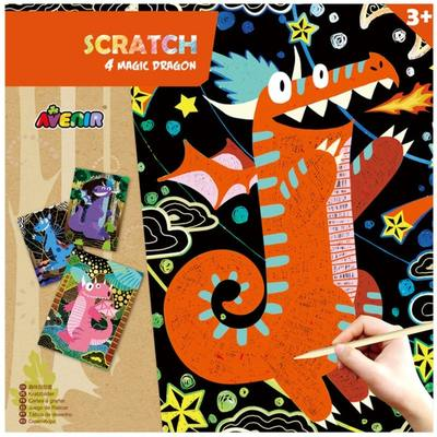 Scratch: 4 Magic Dragon