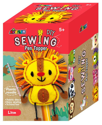 Lion DIY Sewing Pen Topper