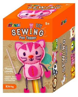 Kitty DIY Sewing Pen Topper