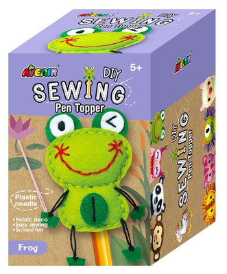 Frog DIY Sewing Pen Topper