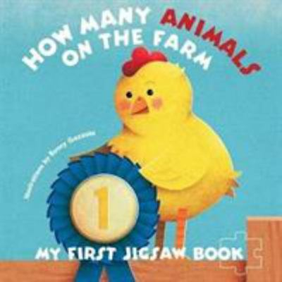 My First Jigsaw Book - How Many Animals in the Farm?