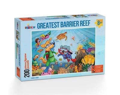 Funbox Puzzle Greatest Barrier Reef 200 Piece