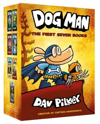 Dog Man: The First Seven Books
