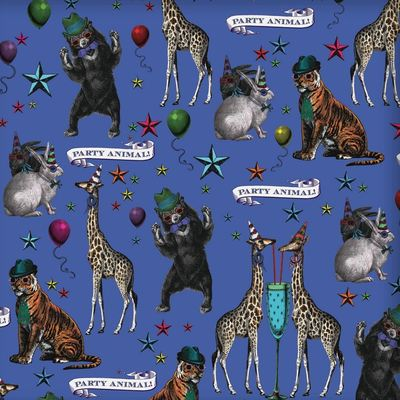 Party Animals Wrapping Paper CW-W-WP0009