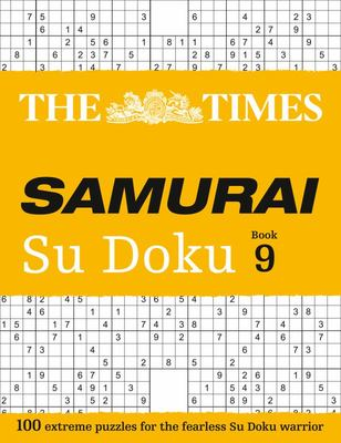 The Times Samurai Su Doku 9
