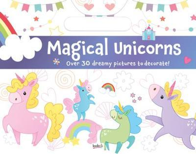 Holiday Fun Pad Magical Unicorns