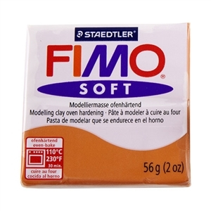 Fimo Soft Modelling Clay 57g Cognac