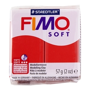 Fimo Soft Modelling Clay 57g Indian Red
