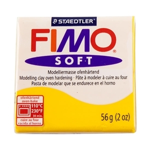 Fimo Soft Modelling Clay 57g Sunflower
