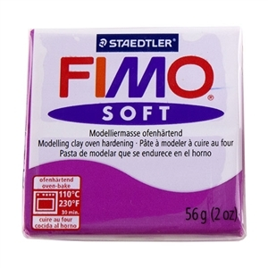 Fimo Soft Modelling Clay 57g Violet