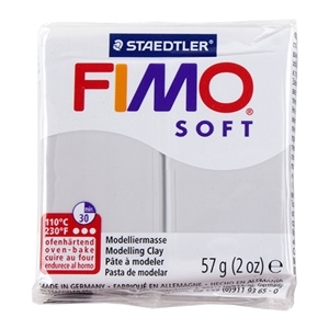 Fimo Soft Modelling Clay 57g Dolphin Grey