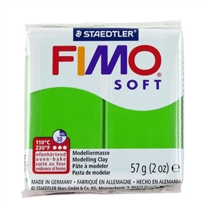 Fimo Soft Modelling Clay 57g Tropical Green