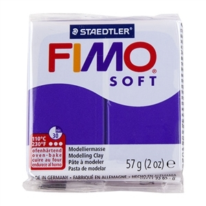 Fimo Soft Modelling Clay 57g Plum