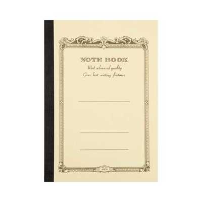 Notebook A5 Lined Cream
