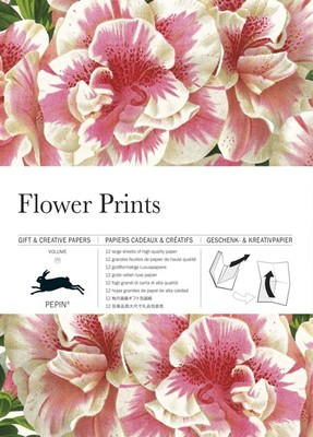 Flower Prints: Gift & Creative Papers Book (PP-SWS-WB077)