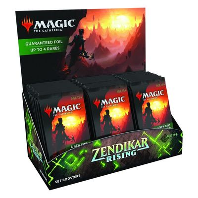 Magic Zendikar Rising Set Booster Box preorder