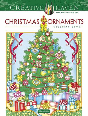 Creative Haven Christmas Ornaments Coloring Book