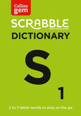 Collins Scrabble Dictionary Gem Edition - The Words to Play on the Go