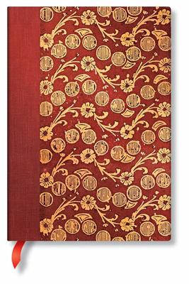 Paperblanks Journal -  Woolf, the Waves (Vol 4), Midi, LIN
