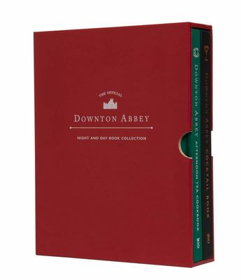The Official Downton Abbey Night and Day Book Collection - | the Official Downton Abbey Afternoon Tea Cookbook | the Official Downton Abbey Cocktail Cookbook | Gift for Fans of Downton Abbey | Downton Abbey Cookery