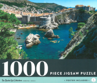 Dubrovnik Croatia: 1000-piece Jigsaw Puzzle Bucket List Collection