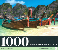 Maya Bay Thailand: 1000-piece Jigsaw Puzzle Bucket List Collection