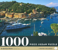 Portofino Italy: 1000-piece Jigsaw Puzzle Bucket List Collection