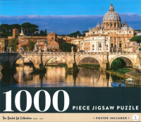 Rome Italy: 1000-piece Jigsaw Puzzle Bucket List Collection