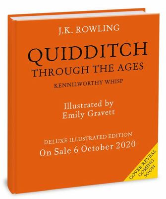 Quidditch Through the Ages - Illustrated Edition - Deluxe Illustrated Edition