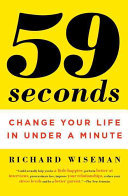 59 Seconds - change your life in under a minute