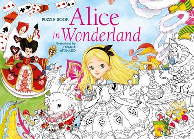 Alice in Wonderland Puzzle Book