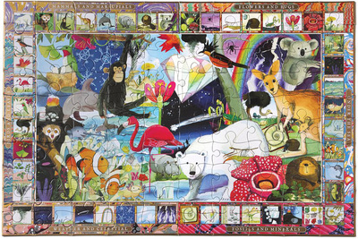 Natural Science: 100-Piece Jigsaw Puzzle Eeboo (EB-PZSCI)