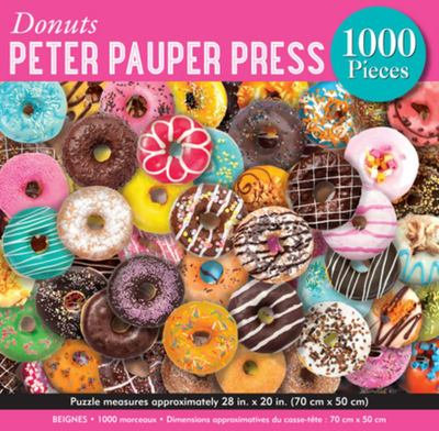 Donuts: 1000-piece Jigsaw Puzzle (4958) Peter Pauper