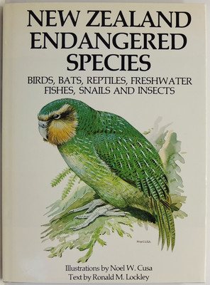 New Zealand Endangered Species Birds Bats Reptiles Freshwater Fishes Snails and Insects